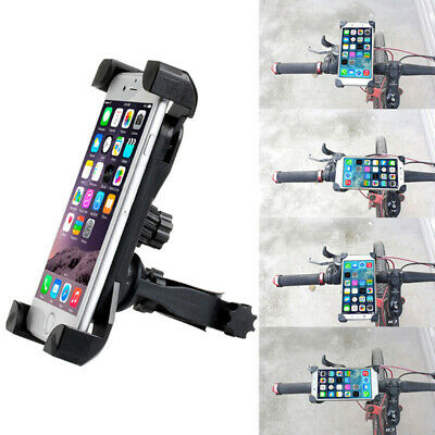 Motorcycle Bike Bicycle MTB Handlebar Mount Holder For Cell Phone GPS Universal