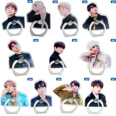 KPOP BTS Cute Phone Stand Finger Ring Handle Universal JUNGKOOK SUGA Fans Gift
