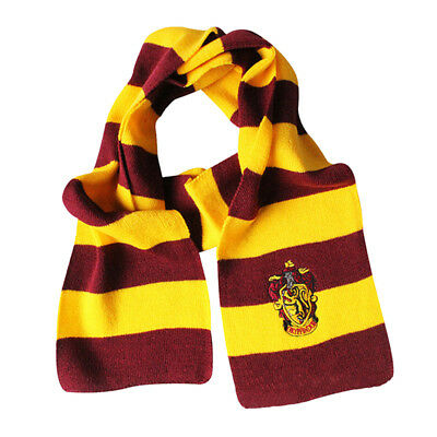 Harry Potter Gryffindor House Cosplay Knit Wool Scarf Wrap Fashion costume TG