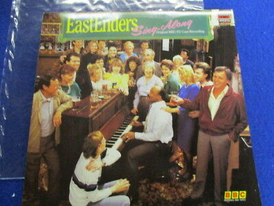 """Eastenders,sing along,1985,12"""" emi/bbc records,fast post"""