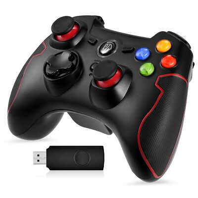 Wireless Controller, Drahtloser 2.4G Windows PS3, Android, TV-Box Gamepad
