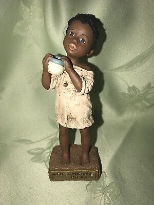 All God's Children Holcombe Nakia Limited Ed. Figurine Black Americana 1994-95