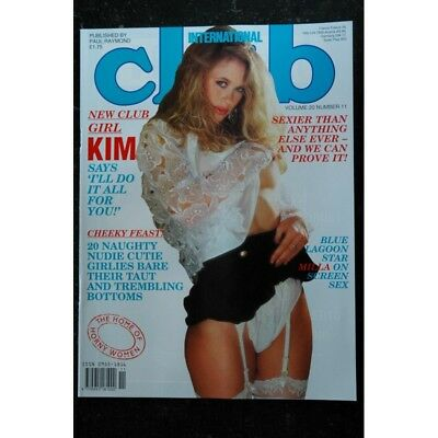 Club International Uk Vol. 20 N° 11   BRIDGETTE   NADINE   KIM   SANDY   TRACEY