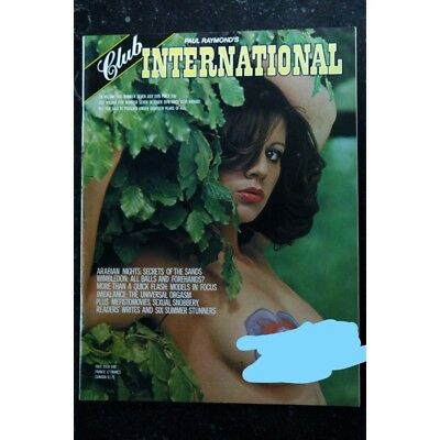Club International Uk Vol. 05 N° 07  ARABIAN NIGHTS LYDIA FRAN BERNADETTE CAROLI