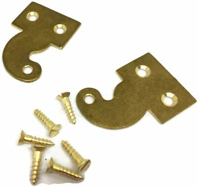 Long Case Clock Hood Door Hinge Blanks Pre-drilled