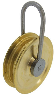 Clock Pulley for Longcase Chain