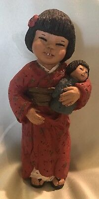"All God's Children ""Kameko"" Figurine Martha Holcombe International Series COA"