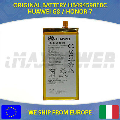 BATTERIA BATTERY ORIGINALE HUAWEI HB494590EBC HONOR 7 G620S G628 G8 3000 Mah
