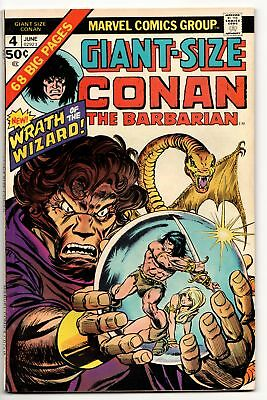 Giant Size Conan the Barbarian #4 (Marvel, 1975) FN
