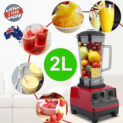 Commercial Blender - Mixer Juicer Food Processor Smoothie Ice Crush Gifts Y3Y