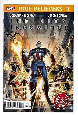 True Believers Infinity Incoming #1 (Marvel, 2018) NM