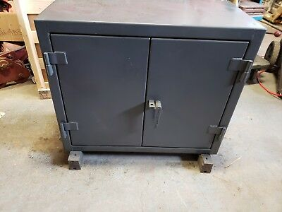 """Stronghold 32.6-182 Heavy Duty Storage Cabinet 30"""" H X 36"""" W X 18"""" D Lockable"""