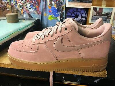 Nike Air Force 1  07 LV8 Suede Particle Pink Size US 13 Men s AA1117 600 f2c64eeeb
