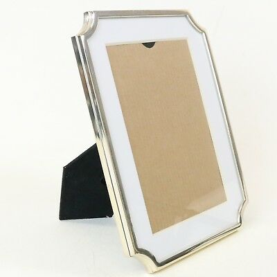 Kate Spade Lenox Photo Frame 5 x 7 Sullivan Street, Gold Colored Silver Plated