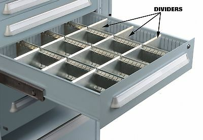 Lyon Modular Drawer Cabinet Divider, For Drawers w/Height (In.) 7   NF240100D8