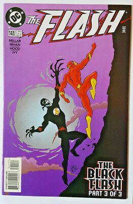 DC Comics The Flash vol.2 #141 Grant Morrison 1st full app THE BLACK FLASH 1998