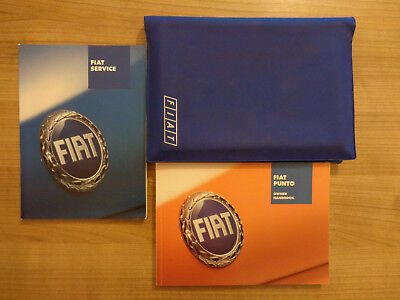 Fiat Punto Owners Handbook/Manual and Wallet 06-09