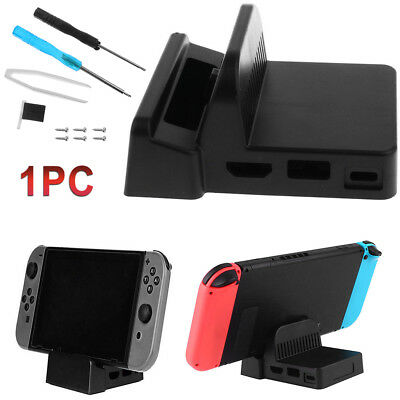 Quality DIY Mini Dock Case Cover + Screw Fit for Nintendo Switch Docking Station