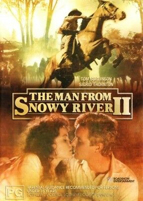 The Man From Snowy River 2, DVD