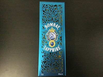 Bombay Sapphire Gin - 750 ml Limited Edition Collectible Tin