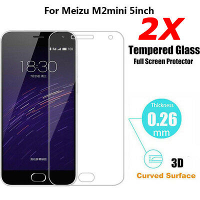 2X Screen Protector REAL Tempered Glass Film For Meizu M5 M6 M5 Note M6 Note