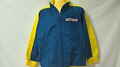 Child's Cowboys Jacket, Size 5, Height 115CM's  Waist 62CM's