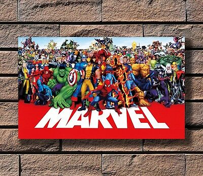 marvel line up poster 2015 Super Heroes Universe marvel-superheroes Poster E-25