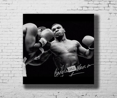 Y536 Mike Tyson The Champion Boxer Boxing Star Hot Fabric Poster 16x16 24x24