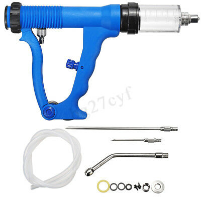 30ml Continuous Drench Gun Oral & Pour Cattle Sheep Goats On Animal Husbandry N