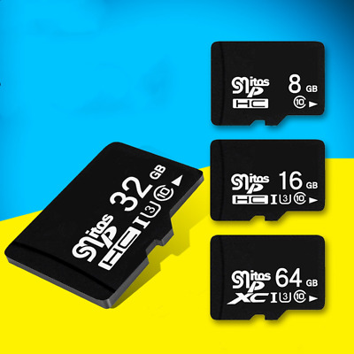 Micro SD Class 4 TF Memory Card 1GB 2GB 4GB 8GB 16GB 32GB 64GB 128GB Lot US