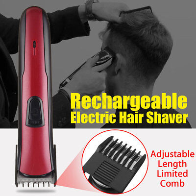 Hair Clipper Rechargeable Electric Cordless Shaver Razor Beard Cutting Trimmer ☆