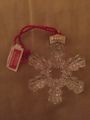 NEW Marquis by Waterford Crystal Ornament 2006 Annual Snowflake Sealed in Box