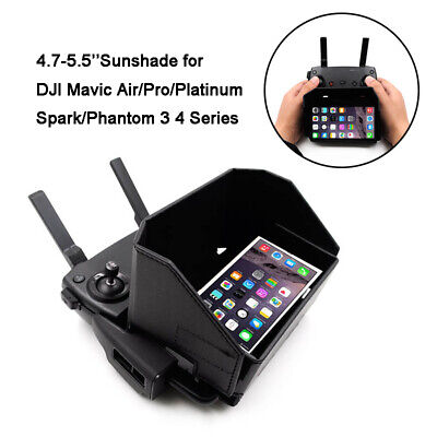 4.7-5.5'' Phone Sunshade Hood Cover for DJI Mavic Pro Air Phantom 3 4 Accessory
