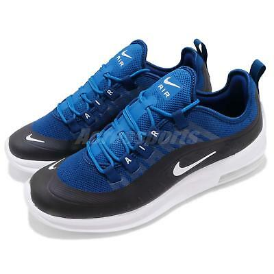 3808deebd15 Nike Air Max Axis Black Blue White Men Running Casual Shoes Sneakers AA2146 -400