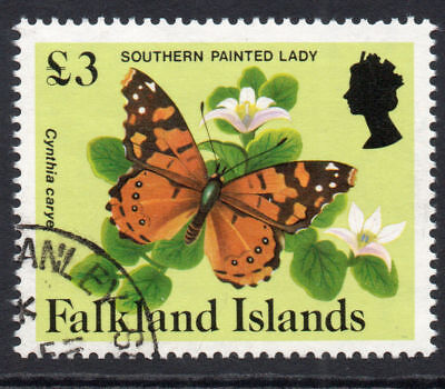 Falkland Islands £3 Stamp c1984 Used (960)