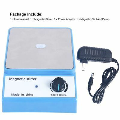 Magnetic Stirrer Laboratory mixer 3000ml 316 Sstainless Steel Plate AC 100-240V