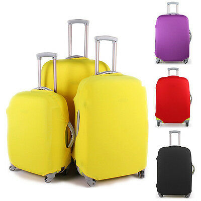 "20""- 28"" Elastic LARGE Luggage Suitcase Cover Protection Protector Covers Travel"