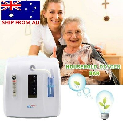 1-6L/Min Portable Adjustable Oxygen Generator Concentrator Machine AU