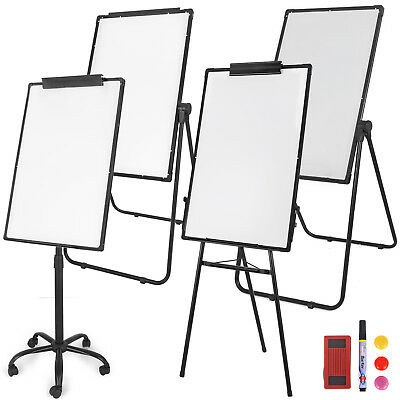 Magnetic Whiteboard Dry Erase Tripod U Stand Mobile Double or Single Side w/ Pen