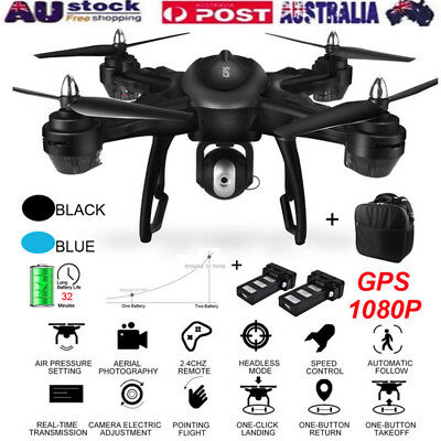 LH-X38G Dual GPS FPV With 1080P HD Camera Wifi RC Drone Quadcopter+Backpack AU