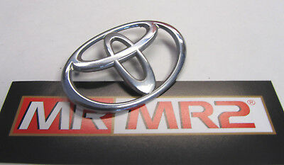 Toyota MR2 MK2 Rear Toyota Boot Lid Trunk Badge  - Mr MR2 Used Parts 1989-99