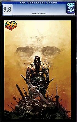 Conan the Barbarian Zaffino 1:25 Variant CGC 9.8 01/02 Fast Track **NOT VIRGIN*