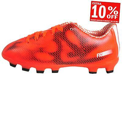 outlet store 1c5ae 9fe52 Adidas F10 HG Junior Kids Boys Pro Football Boots Black Red