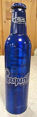 2007 Bud Light Gasparilla T-A-M-P-A Aluminum Bottle Beer Can #500916