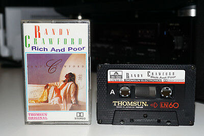 Randy Crawford Rich & Poor/Cassette/Collectors Import/Saudi Thomsun/Play Tested
