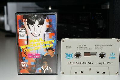 Paul McCartney Tug Of War/Cassette/Collectors Import/Saudi 747/Fully Play Tested