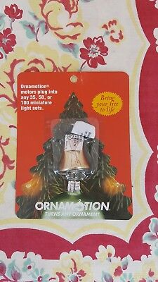 Ornamotion motor BELL SHAPE Ornament turner NEW Bring your tree to life 82205