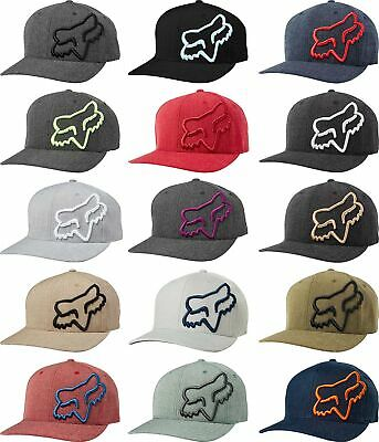 Fox Racing Clouded Flexfit Curve Bill Men's Hat -  Mens Lid Cap