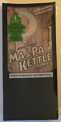 The Adventures of Ma & Pa Kettle - Volume 1 (DVD, 2004, New Sealed)