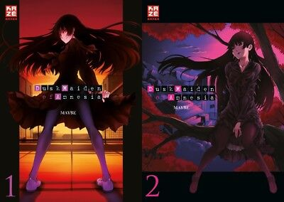 Dusk Maiden of Amnesia Band 1 & 2 | WIE NEU